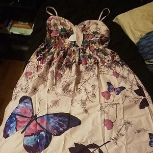 Long spring dress